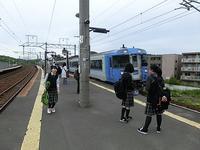 若者たちの思い出作りに寄与する鉄道物語、千歳線上野幌での嬉しい光景、列車で通学 - 藤田八束の日記