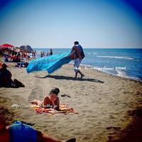 """""""村のビーチ♪""""と、「猛暑」引き続き、注意!@イタリア&南ヨーロッパ各国 ~ローマ近郊の小さな小さな海沿いの村から♪ 2017 ~ - ROMA  - PhotoBlog"""