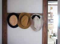 夏・帽子を掛ける場所* - yasumin's cafe*
