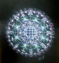 病気とスピリチュアルとアセッション(曼荼羅) - ライトワーカー ネフェルタリブログ