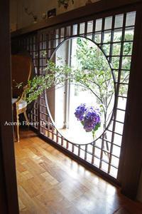 ギャラリーの装花 - acorns flower days