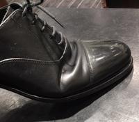 履きジワに噛まれる。。。 - 玉川タカシマヤシューケア工房 本館4階紳士靴売場