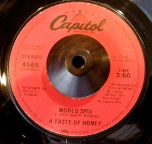 SOUL FUNK 45.   NATALIE COLE / ANNIE MAE &  A TASTE OF HONEY/WORLD SPIN - maribron、poupee de son,compactrecords,日々のあわ