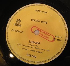 GOLDEN BOYS / EU BEBO SIM/ ESTRANGE - maribron、poupee de son,compactrecords,日々のあわ