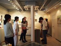 日本画のマチエールの魅力 - アートで輪を繋ぐ美空間Saga