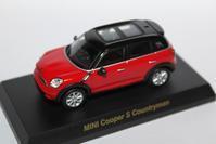 1/64 Kyosho BMW&MINI Mini Cooper S Countryman - 1/87 SCHUCO & 1/64 KYOSHO ミニカーコレクション byまさーる