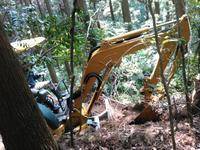 今回は自伐型林業を志す方が、鹿児島県より見学 - 自伐型林業 施業日記