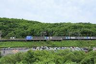 藤田八束の鉄道写真@千歳線上野幌近くで撮影・・・貨物列車が少ない、それは荷物がないのか - 藤田八束の日記