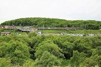 藤田八束の鉄道写真@北海道は新緑で最も爽やかなシーズンを迎えます・・・千歳線上野幌駅付近にて - 藤田八束の日記