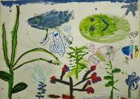 6/11 子供アート教室 ~大作に挑戦~ - miwa-watercolor-garden