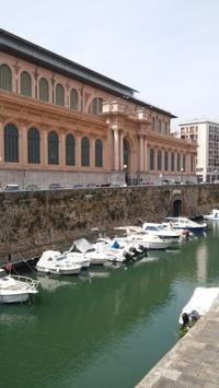 リボルノ中央市場 - トスカーナの海より リボルノ編