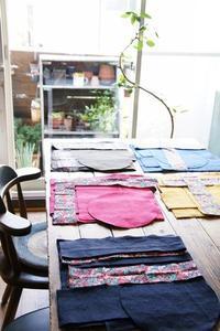 カラフルな帆布も使ってます! - yasumin's cafe*