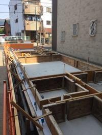 大阪市内 木造2階建て住宅 基礎工事。 - 家をつくることを考える仕事をしています。 Coo Planning