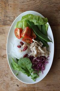 野菜たっぷりの朝 - Nasukon Pantry