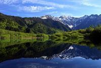 大正池から穂高連峰を望む - Photolog@Hello folks!
