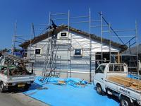 瀬戸内の家Ⅱ 上棟式 - 木楽な家 現場レポート