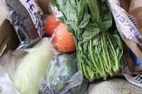 実家から届いた野菜 - 空色のココロ~小さな幸せを探して~