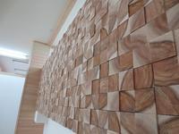 食と美容&整体複合施設の改装工事④(仕上げ/造作工事) - ㈱栃毛木材工業