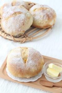 コーンパンレッスン始まっています♪ - パンとアイシングクッキー、マシュマロフォンダントの教室 launa