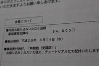 河合塾夏期講習代84000円 - これが、わが家の家計簿です
