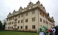 トリックアートな世界遺産チェコの「リトミシュル城」がおもしろい - ! Buen viaje!(ブエン ビアーへ)旅と猫