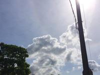 今日の空はすごかった…&「ブログしばらくお休みします」のお知らせ - アトリエkeiのスピリチュアルなシェアノート