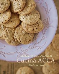 Croquants aux Amandes  アーモンドのクロッカン - Cucina ACCA