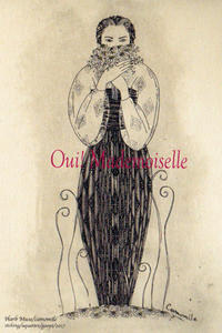 『Oui! Modemoiselle』イェイェガールな個展のお知らせ! - +P里美の『Bronze & Willow』Etching note