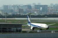 HND - 146 - fun time (飛行機と空)