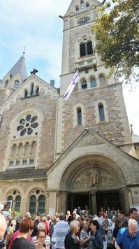 近所の教会で宗教改革500周年のお祭り☆ - ドイツより、素敵なものに囲まれて②