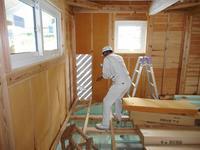 瀬戸内の家Ⅱ 検査と外壁 - 木楽な家 現場レポート