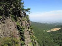 高崎市 榛名山黒岩でクライミング     Rock Climbing at Kuroiwa in Mount Haruna, Gunma - やっぱり自然が好き
