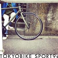 tokyobike SPORT 9s トーキョーバイク おしゃれ自転車 自転車女子 自転車ガール クロスバイク リピトデザイン 650c - サイクルショップ『リピト・イシュタール』 スタッフのあれこれそれ