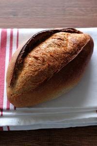 パン教室で「ライ麦のふんわりカンパーニュ」 - Takacoco Kitchen