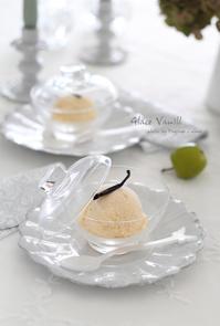 バニラアイス♪ - フランス菓子教室 Paysage Calme