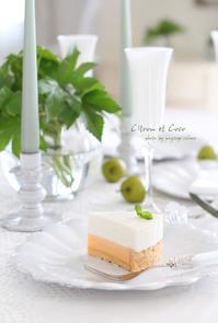 レモンとココナッツ - フランス菓子教室 Paysage Calme