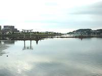 『日本書紀』に書かれた「神功皇后の美豆良結い」の場所はココ 海の中の御島神社  - ひもろぎ逍遥