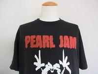 Vintage 90s Pearl Jam ヴィンテージ パールジャム EURO ロックt 古着 バンド Tシャツ - Used&Select 古着屋 コーナーストーン CORNERSTONE