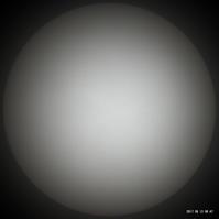 6月13日の太陽 - お手軽天体写真