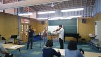 管弦楽アンサンブルの授業 - 国立音楽院宮城キャンパス・ヴァイオリン製作科ブログ