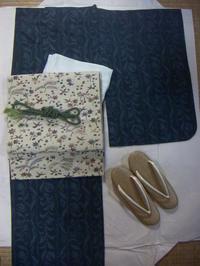 懐かしいビーズの帯締めを合わせて。 - 京都嵐山 着物レンタル&着付け「遊月」