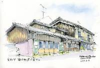 下京区間之町通の建物 - 風と雲