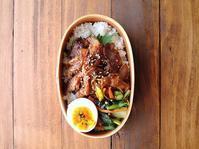 6/14(水)豚焼肉丼弁当 - おひとりさまの食卓plus