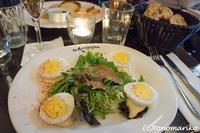 フランスのカフェのド定番「卵マヨネーズ」 - パリときどきバブー  from Paris France