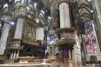 ミラノ大聖堂~内観~ - ビーズ・フェルト刺繍作家PieniSieniのブログ