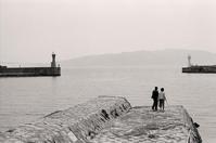 海辺の二人 - Life with Leica
