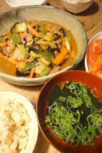 豚と野菜の味噌炒め - 週末は晴れても、雨でも