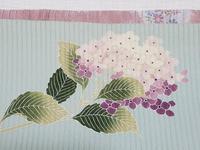 紫陽花の帯 小物コーデ - 色、いろいろ