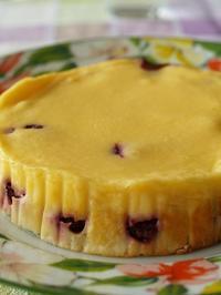 チェリーのリコッタチーズケーキ - シニョーラKAYOのイタリアンな生活