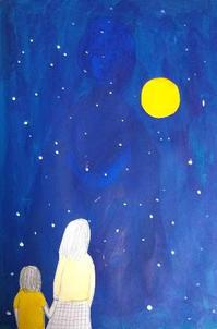 月 - たなかきょおこ-旅する絵描きの絵日記/Kyoko Tanaka Illustrated Diary